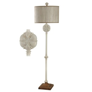 light up a beach decor room with a sand dollar lamp coastal style. Black Bedroom Furniture Sets. Home Design Ideas