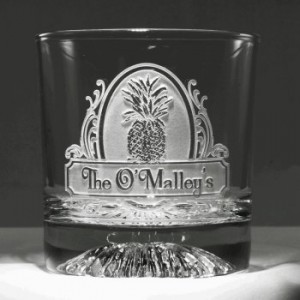 Pineapple Glasses Personalized
