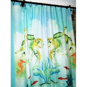 sea_turtle_shower_curtain