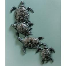 Turtles Wall Plaque