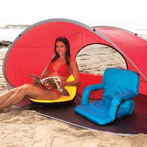 Beach Chairs, Sun Tents & Blankets