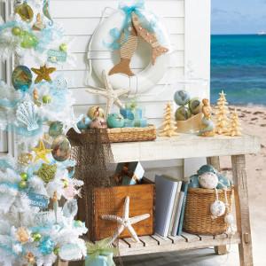 Beach Christmas Decor