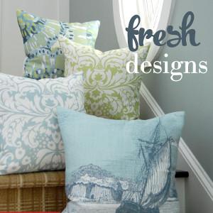Coastal Home Throw Pillows : Nautical Pillows, Beach Themed Pillows, Coastal Decor Pillows