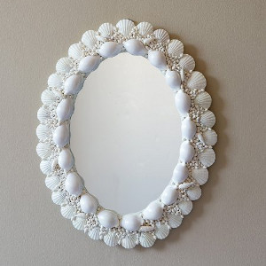 Rope, Porthole & Seashell Mirrors