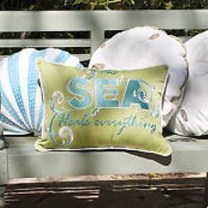 Nautical Outdoor Pillows