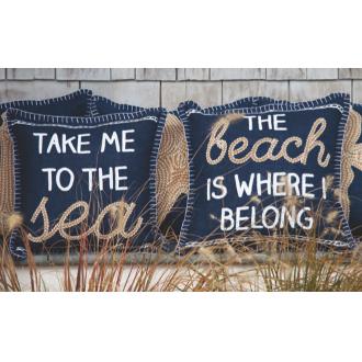 Beach Sayings Pillows