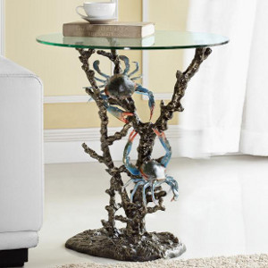 Sealife Glass Side Tables