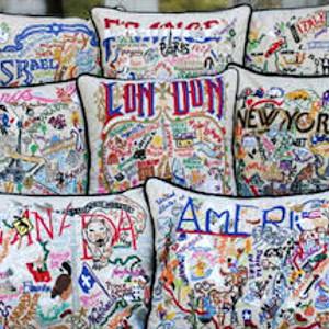 Pillows by Coastal Location