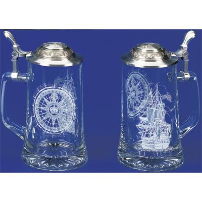 Nautical Beer Steins & Flasks