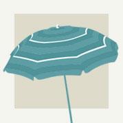 Beach Umbrella Decor
