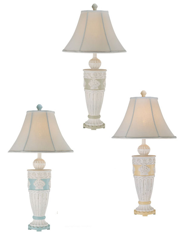 Scallop shell table lamp aloadofball Images