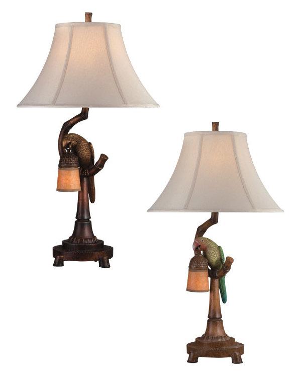 love bird bell w night light table lamp. Black Bedroom Furniture Sets. Home Design Ideas
