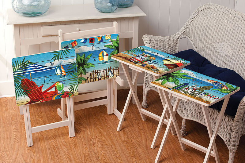 waterside retreat tv trays