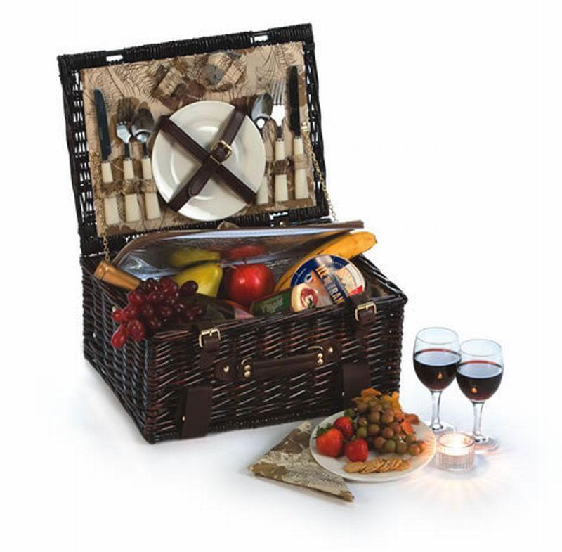 2 person picnic basket homebase : Copley person picnic basket