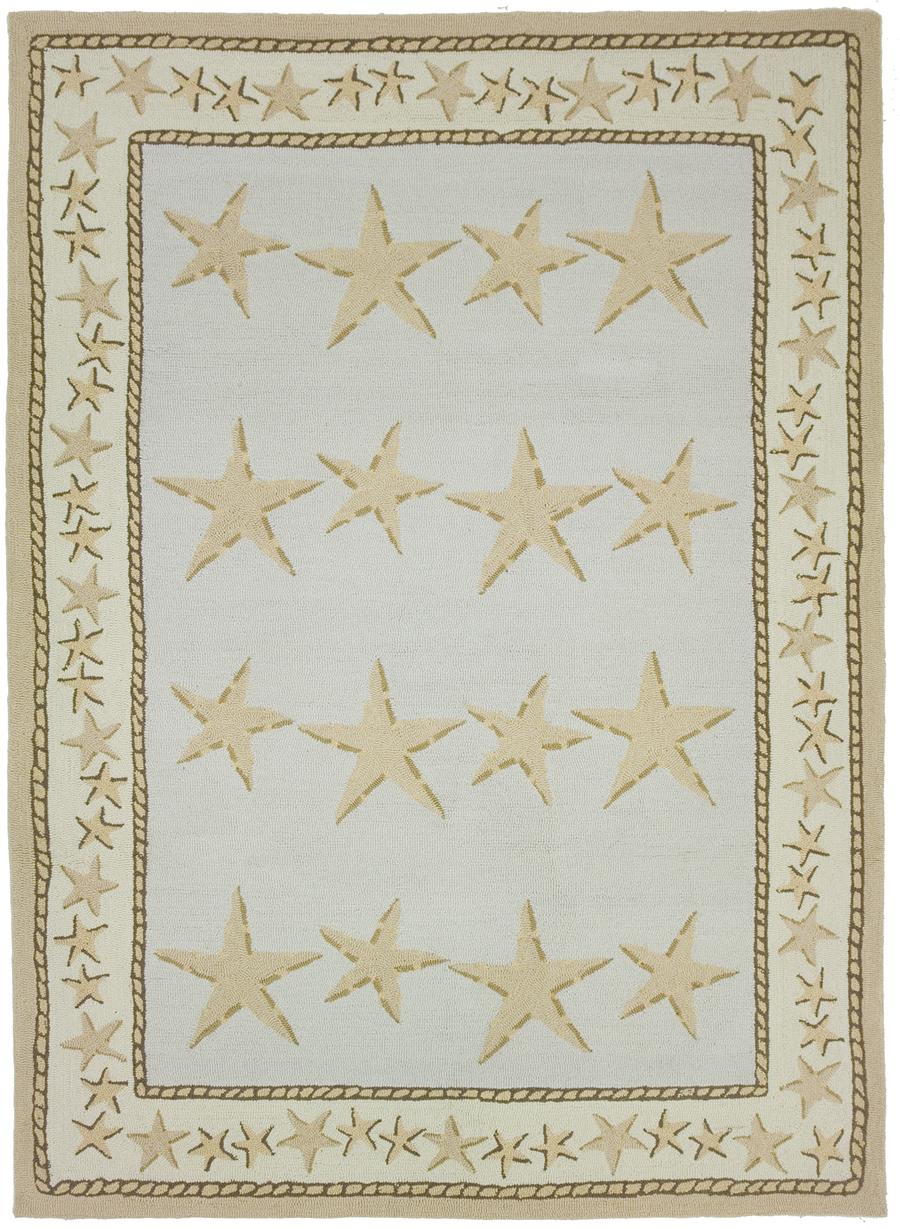 Starfish Toss Rug