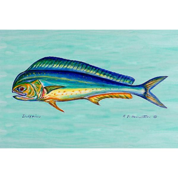 Dolphin Fish Door Mat