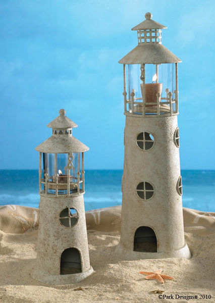 19 Quot Light House Candle Holder
