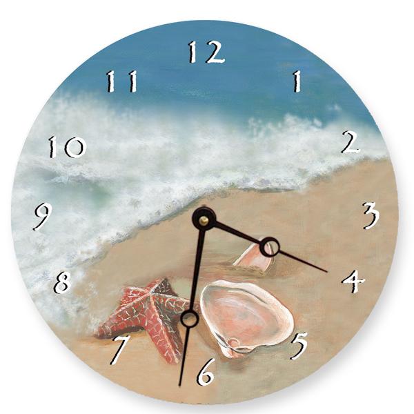 Ocean Shells Clock