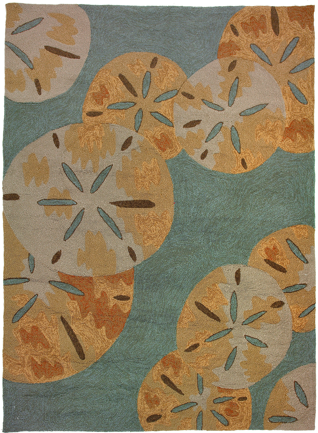 Sand Dollar By The Sea Rug