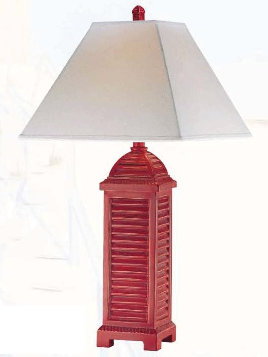 Gypsy red table lamp gypsy red shutter table lamp gypsy red shutter table lamp aloadofball Choice Image