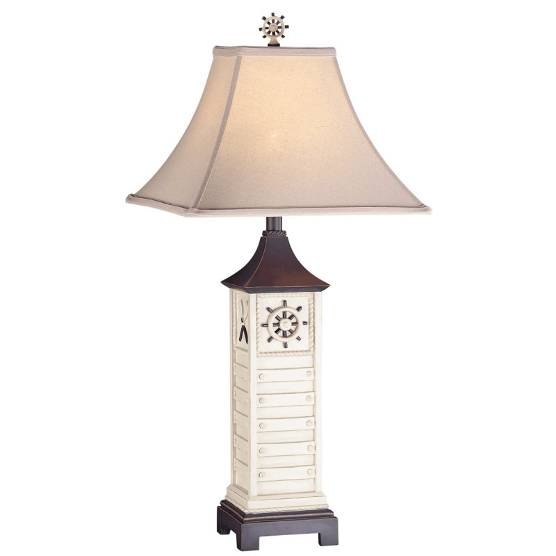 Antique Ocean Lamp