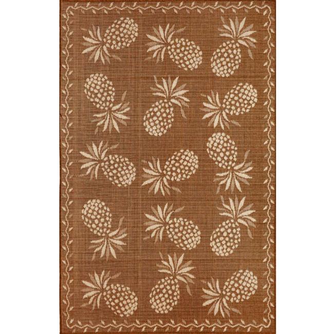 Pineapple Indoor/Outdoor Rug 5 Different Colors