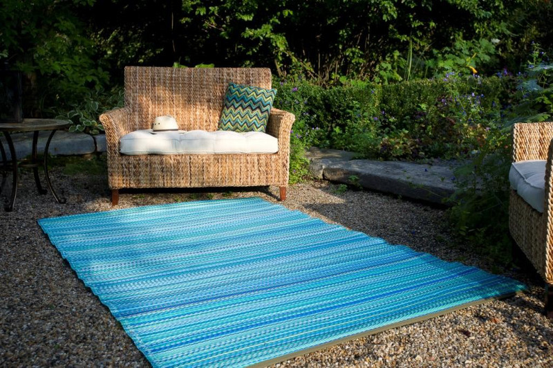 Cancunturquoise Amp Moss Green Indoor Outdoor Rug