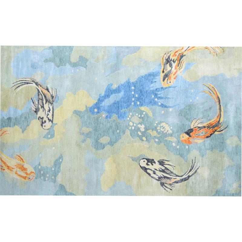 Carpio Koi Fish Rug