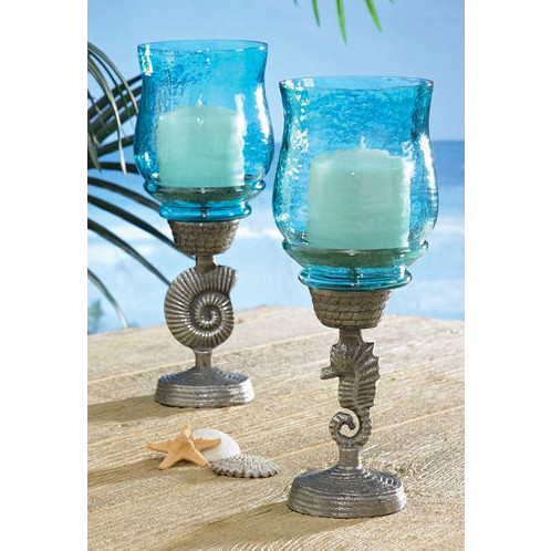 width pair a candleholders aspect of image height product chairish glass candle fit holders pedestal mosaic