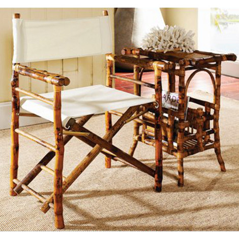 directors chair set of 2 side table sold separately