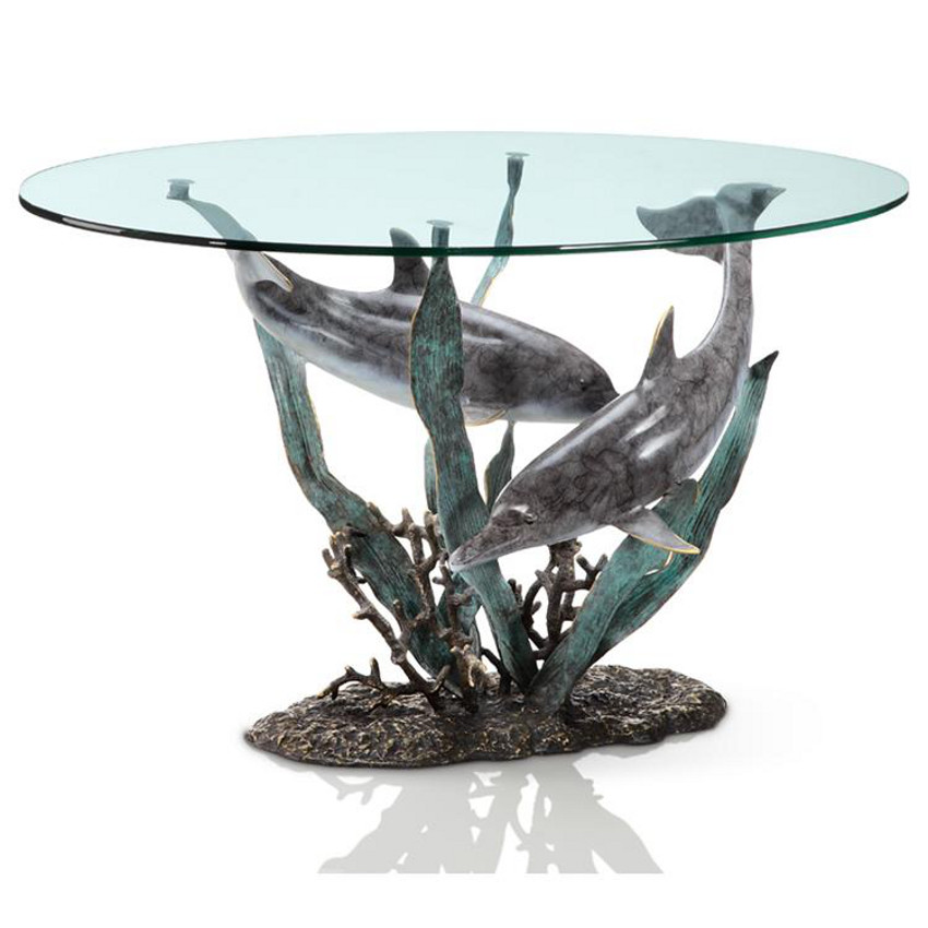 Dolphin Duet Coffee Table Beach D Cor Shop