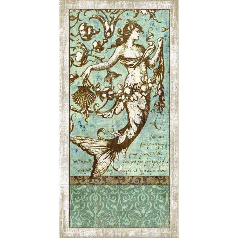 Driftwood mermaid no 1 wall art for Driftwood wall decor