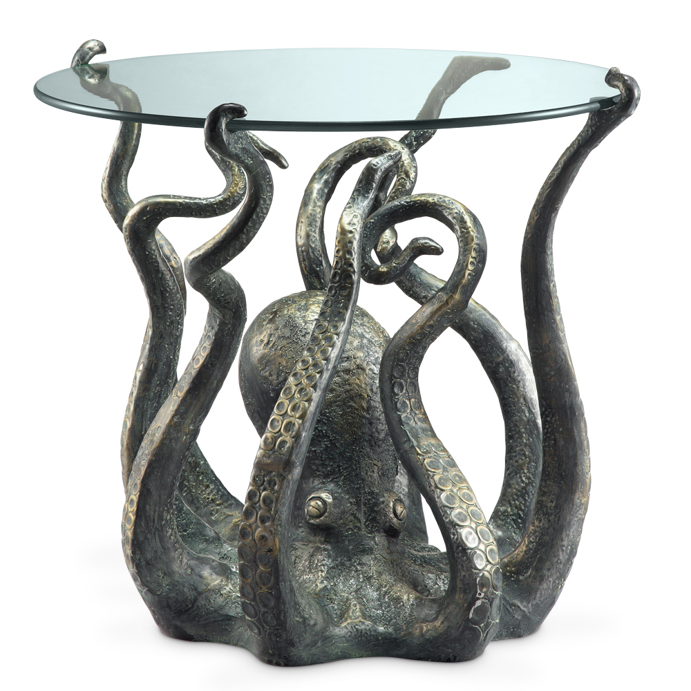 Octopus table for Glace decoration