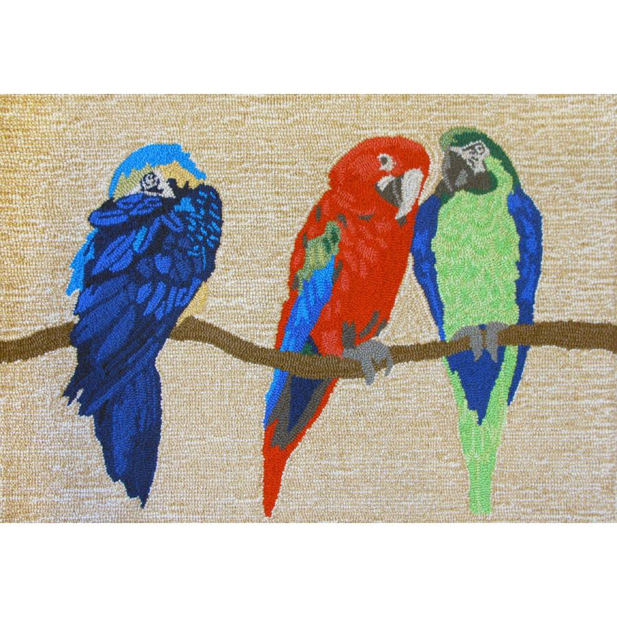 Parrots Bright Indoor Outdoor Rug Beach Decor Shop