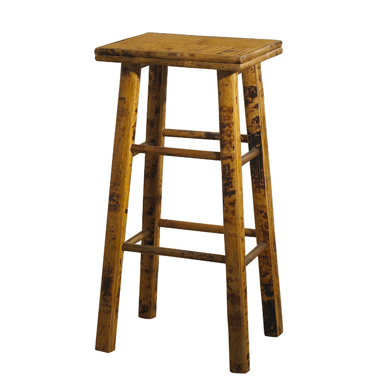 Coastal Bamboo Counter Bar Stool Set Of 2 Beach D 233 Cor Shop