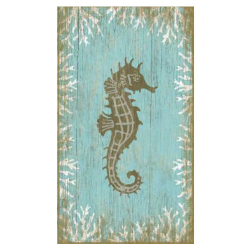 seahorse right wall art. Black Bedroom Furniture Sets. Home Design Ideas
