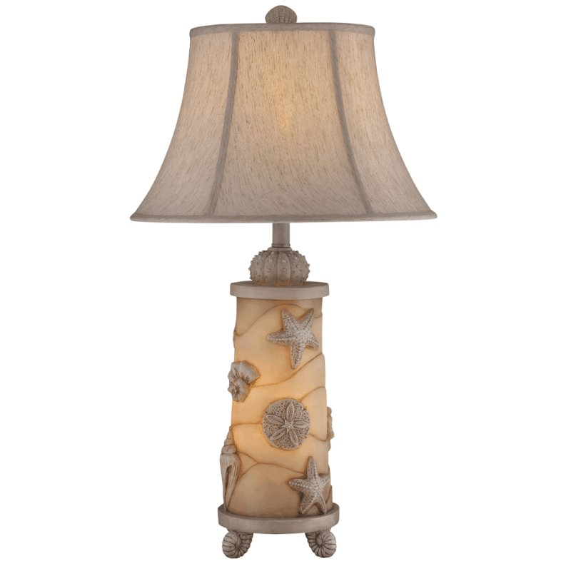Seashell Night Light Table Lamp