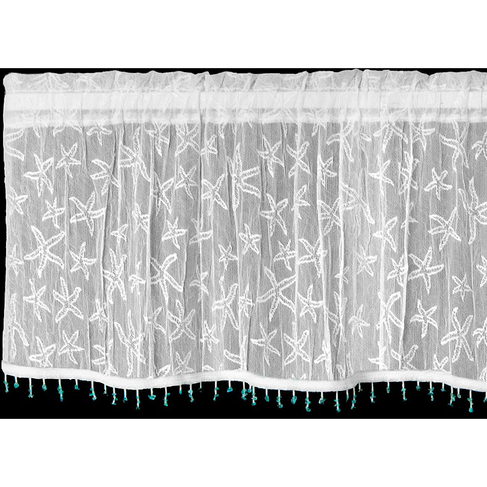 Marvelous ... Valance Comes With Sea Glass Trim