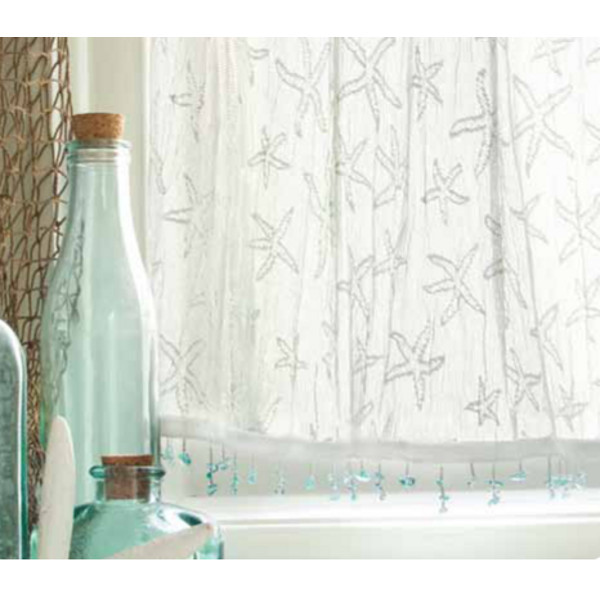 Starfish Valances And Tiers Beach D 233 Cor Shop