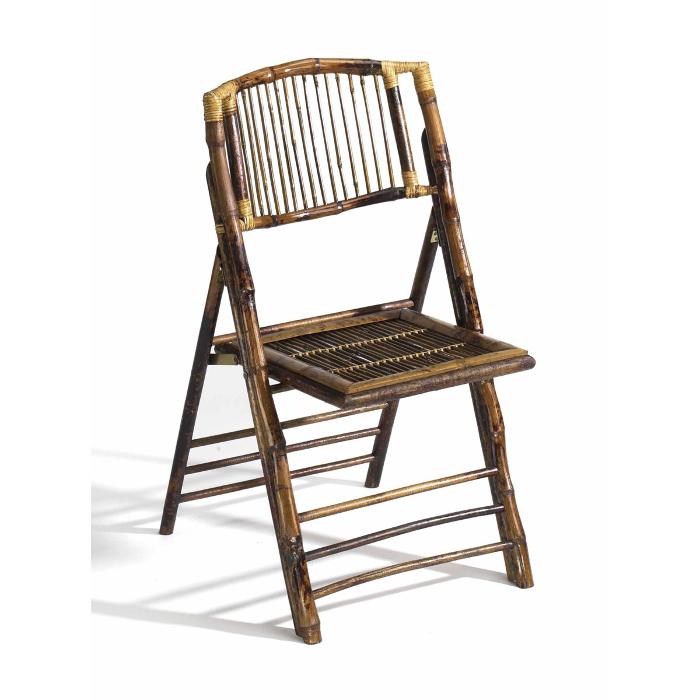 Coastal Bamboo Folding Chair Set Of 2 Beach D 233 Cor Shop