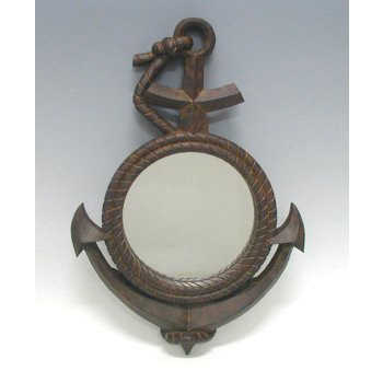 Rusty Anchor Mirror