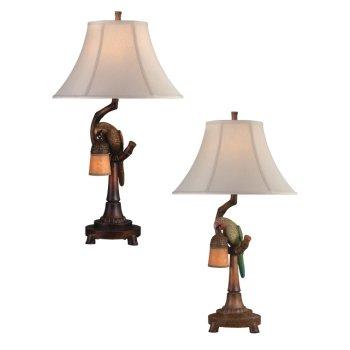 Love Bird Bell W/ Night Light Table Lamp