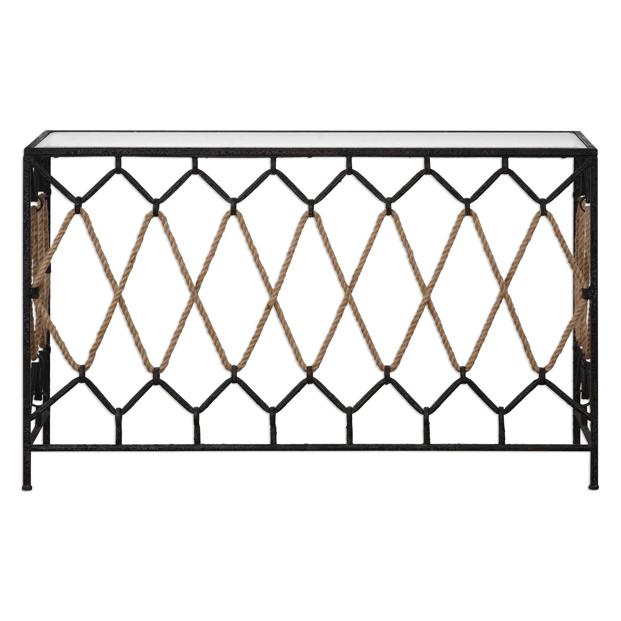 Uttermost darya nautical console table geotapseo Images
