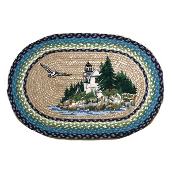 Bass Harbor Lighthouse Rug