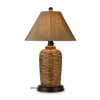South pacific bamboo outdoor table lamp aloadofball Images