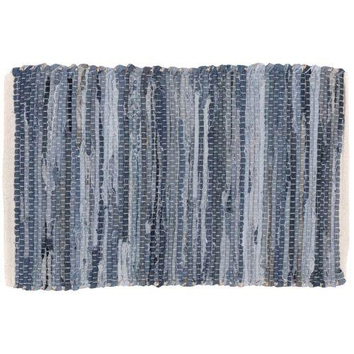 Denim Chindi Rag Rug: VHC Denim & Hemp Chindi/Rag Rug 20x30, Available Now