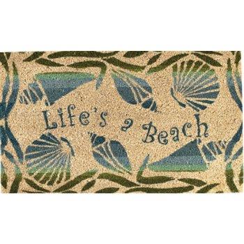 Life'S A Beach Doormat