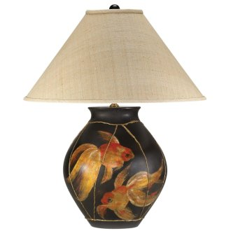 Shop Table Lamps on Goldfish Table Lamp   Beach Decor Shop