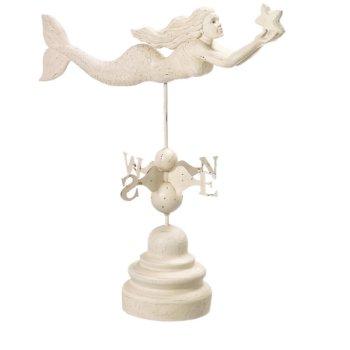 Mermaid Weather Vane Decor