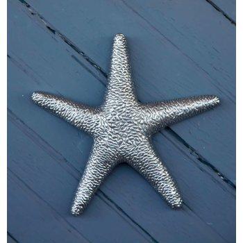 Metal Starfish Sculpture Wall Decor
